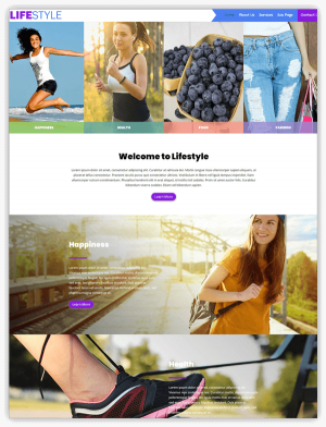 Lifestyle divi child theme