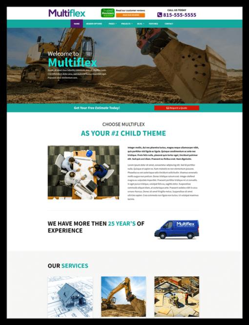 Multiflex divi child theme