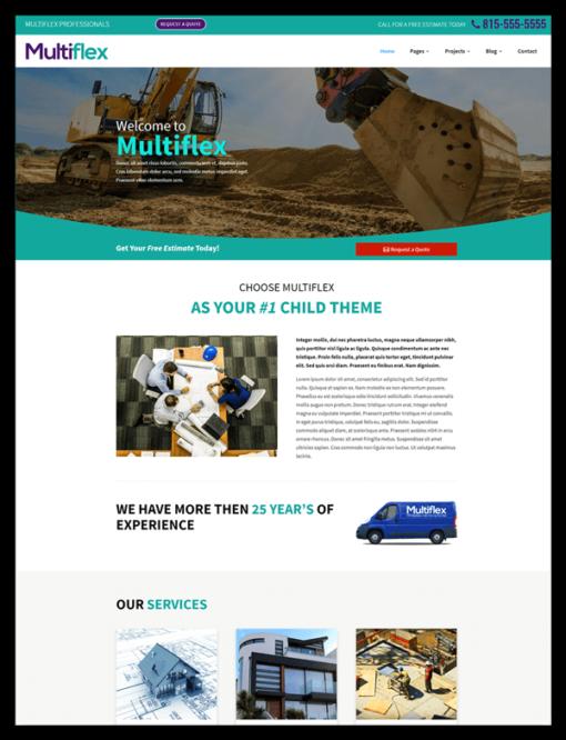 Multiflex child theme