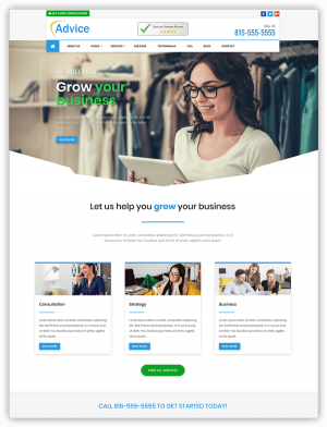 Advice divi theme