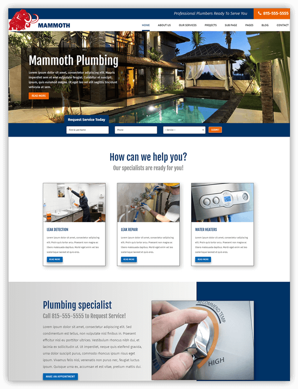 Mammoth divi child theme
