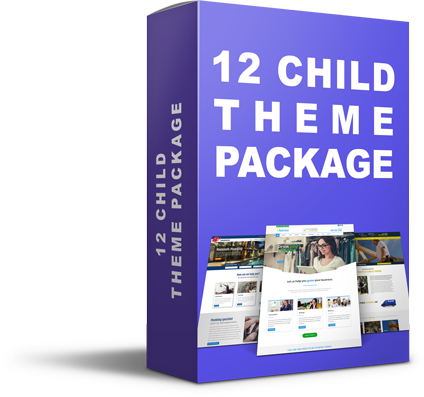 12 child theme package
