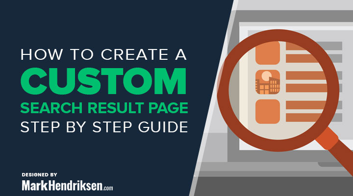 How to create a custom divi search result page
