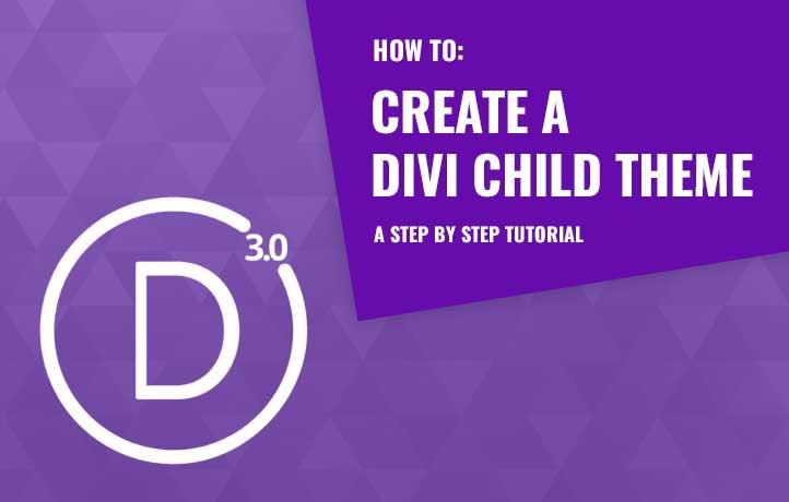 Divi child theme tutorial