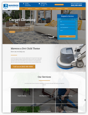 Maveros Divi child theme