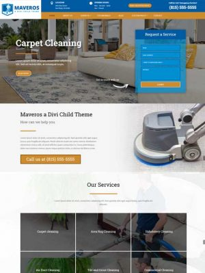 Maveris divi child theme