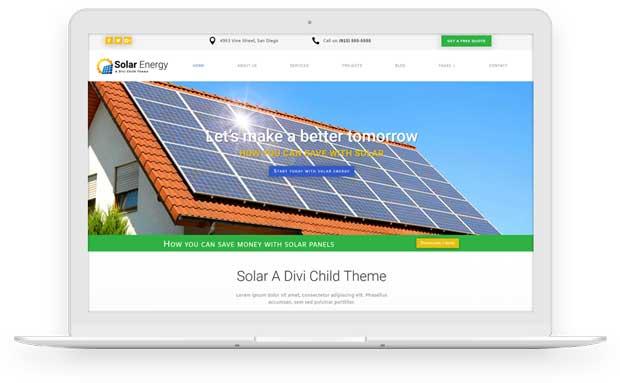 Solar top bar