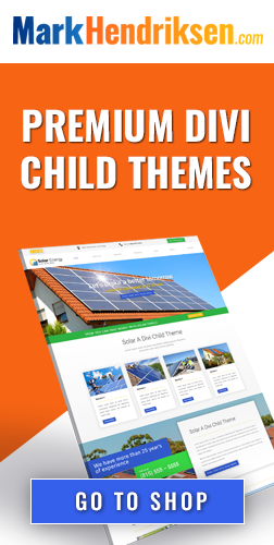 Premium Divi child themes