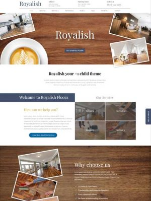 Royalish Divi child theme