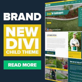 New Divi child theme