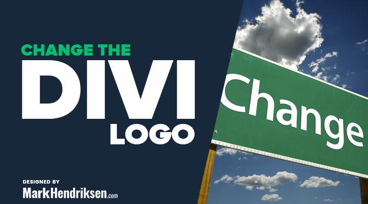 Change the Divi logo