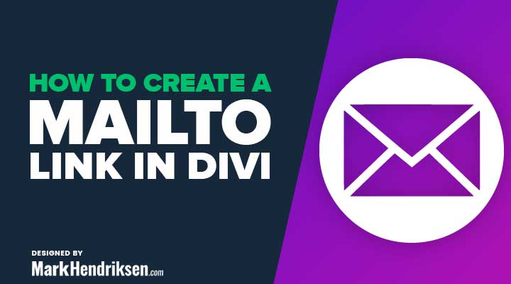 How to Create an Email Link in Divi