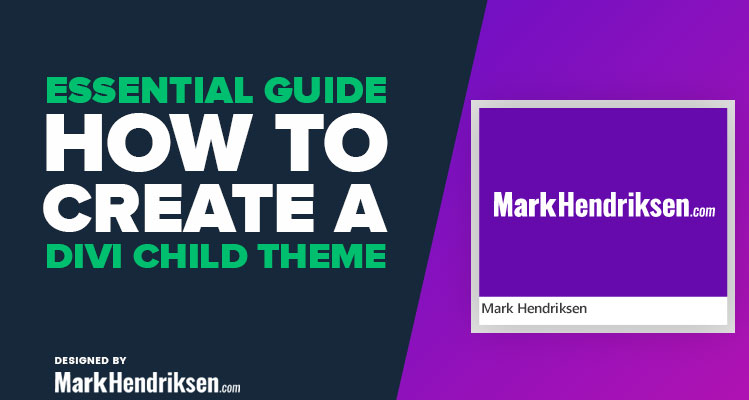 How to make a Divi child theme
