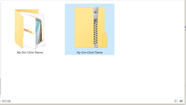 Manual Method zipped file