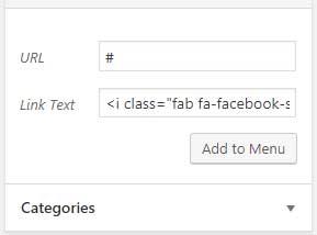 Adding a custom social link