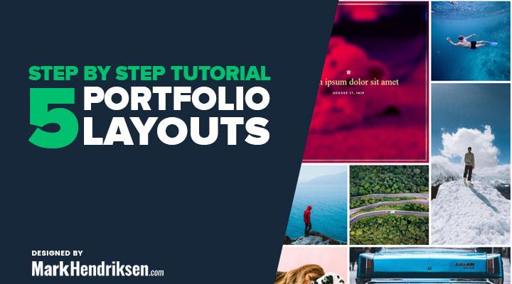 5 free Divi portfolio layouts