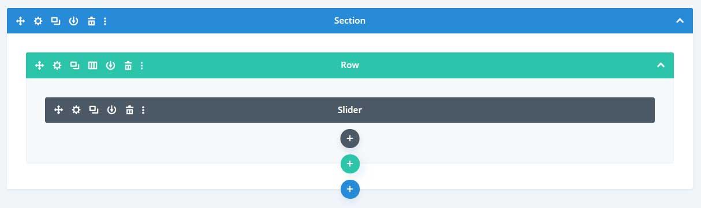Divi slider layout