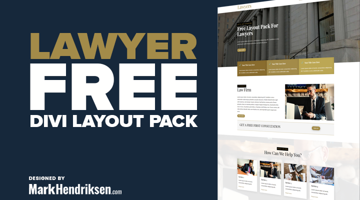 Lawyer Free Divi Layout Pack