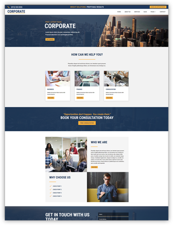 Corporate pro layout pack