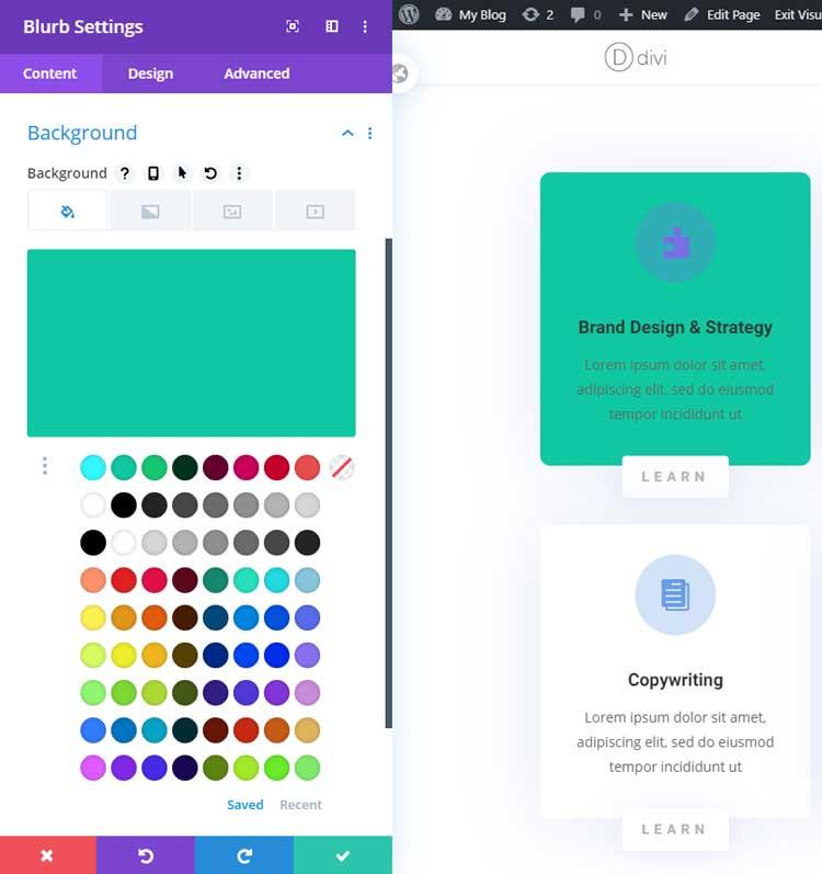 Divi color management