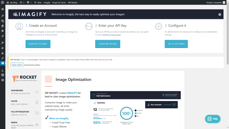 WP Rocket Image Optimization 2