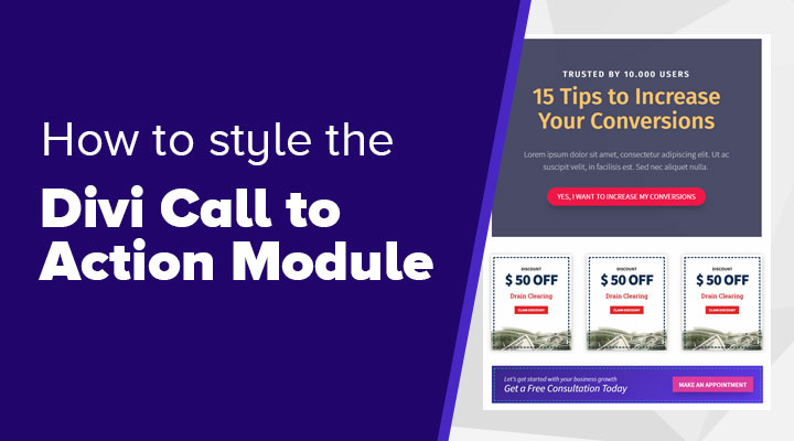 How to Style the Divi Call to Action Module