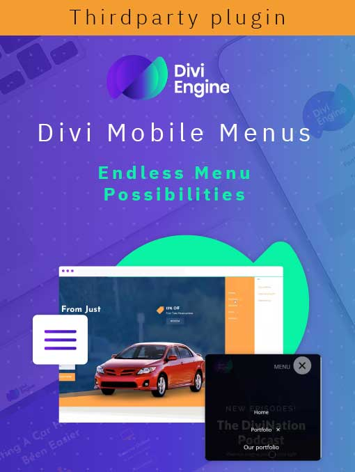 Divi Mobile Menu Plugin
