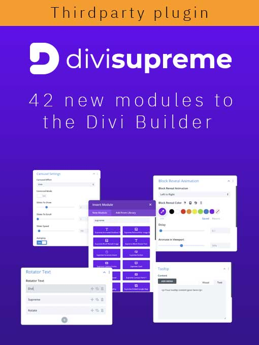 Divi Supreme Plugin