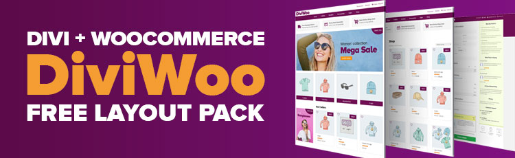 Divi + WooCommerce Free Layout Pack