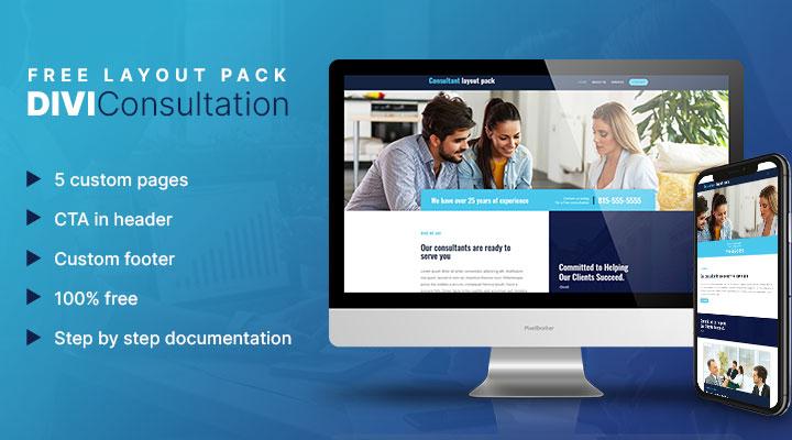 Divi consultation layout pack