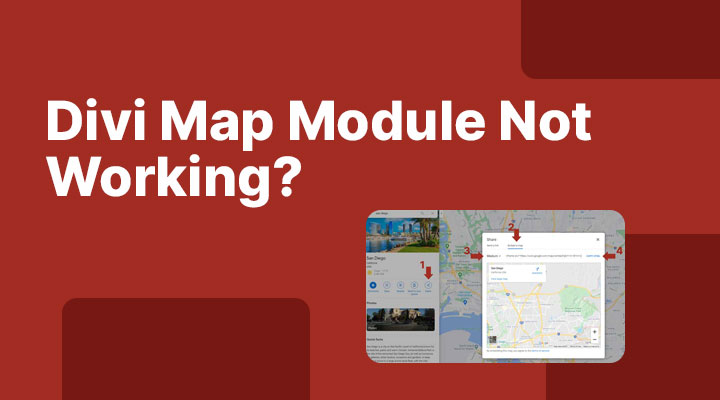 Divi map module not working?