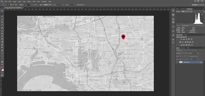 Google maps as an image