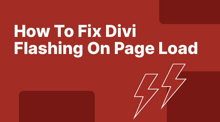 How to fix flashing content in Div